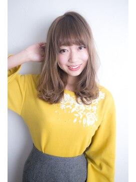 エルバイシオン(aile by sion)モテ髪セミロング