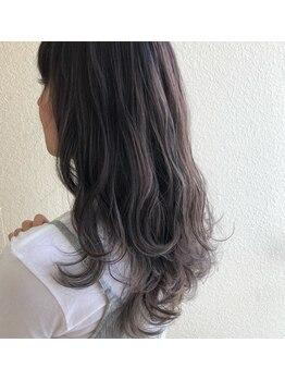 ジャックローズヘアプロデュース(JACK ROSE Hair Produce)の写真/外国人風カラーはお任せください☆髪質に合わせた色味の選定で理想のヘアカラーを再現します♪