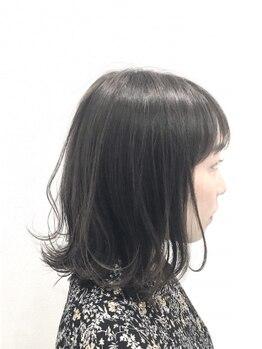 ヘアーコレクトニコ(hair collect nico)の写真/頭の形や輪郭に合わせたカットであなただけに似合うオンリーワンのスタイルへ★カットだけで小顔魅せ叶う♪