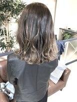 ヘアアンドメイクフリッシュ(HAIR&MAKE FRISCH)ミディアムグラデーション