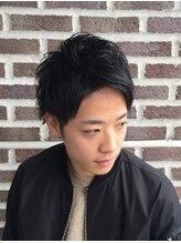 ヘア フィックス リュウ リゾート(hair fix RYU Resort)爽やかアップバングショート【浦和】