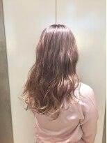 ヘアサロン ドット トウキョウ カラー 町田店(hair salon dot. tokyo color)【White pinkbeige10】ダブルカラーカラーリスト田中【町田】