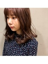 アルマヘアー(Alma hair by murasaki)大人気のピンクカラー