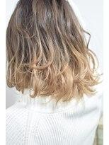 【miel hair blanc】外国人風グラデーションカラー