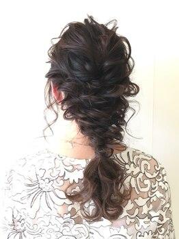 ズィール(zeal)の写真/結婚式・二次会・パーティー・お祭りにも◎ご希望の雰囲気に合わせて、経験豊富なプロの技で可愛く変身♪
