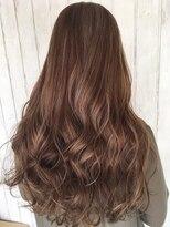 オーシャン ラックスビー(OCEAN LUXBE)フリンジバング 美髪エアリーロング