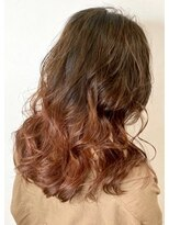 ソース ヘア アトリエ(Source hair atelier)【SOURCE】マロンブラウングラデーション