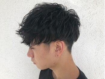 ゴッドヘアーアンドメイク 高崎店(GOD Hair&Make)の写真/【360度どこから見てもカッコよくキマル!】簡単Stylingで魅力UP♪豊富なデザインで理想を叶えます◎