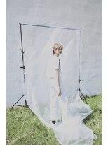 【MORGAN】ホワイトカラーウルフショート