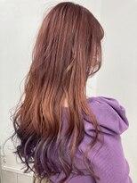 コレットヘア(Colette hair)◎ベリーピンク×パープル裾カラー◎