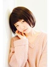 クラリヘア(kurari hair)前髪ぱっつんボブ
