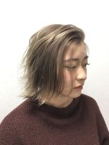 ポッシュ 原宿店(HAIR&MAKE POSH)アッシュ ラベンダー ブルージュ スポンテニアス