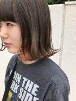 マイ ヘア デザイン(MY hair design)オレンジチラ見えカラー