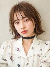 ヘアーディレクション オクハラ(hair direction okuhara)尾道市 福山市 三原市 【hair direction okuhara】外ハネボブ
