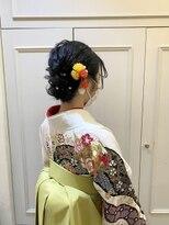 袴ヘアセット 着付け 成人式 卒業式
