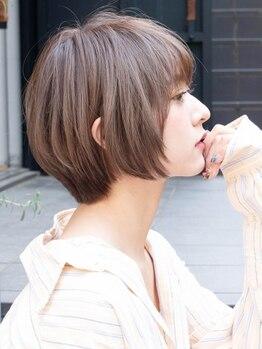 サングース(Sungoose)の写真/カット+カラー+ヘッドスパ¥5980★実力派Stylistが最旬Styleをご提案♪全メニューヘッドスパ付き【学割U24】