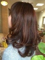 ヘアーサロン アンジュロ(hair salon angelo)アラサー・アラフォー世代の色っぽさ
