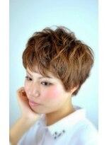 イーチ ディー ヘアーアンドトータルビューティー(each dee hair&total beauty)ふんわりショート【each dee津田沼】