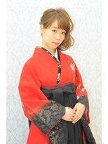 ミチ(michi)卒業式 セット メイク 袴着付