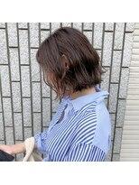アルマヘアー(Alma hair by murasaki)ほんのりハイライトボブ