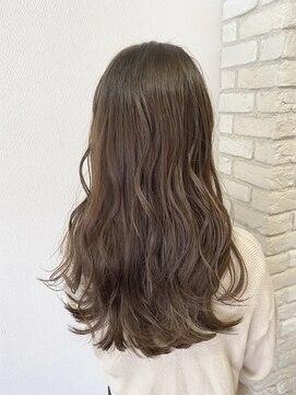 ヘアハウス ルアナ(Hair House Luana by NYNY)上品ミルクティベージュ
