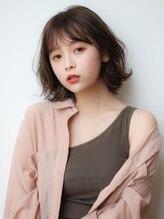 マイラ 銀座(myla)銀座大人可愛いモテ髪切りっぱなし外ハネボブルフ小顔30代40代