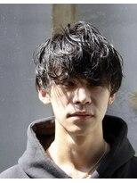 メンズヘアースパイス ユメサキ(Men's Hair SPICE -yumesaki-)くしゃっとマッシュ