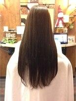 サラ×艶美髪☆クラシカルAラインストレートロング