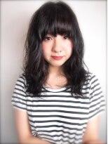 バーレー(Burleigh)☆★黒髪でも可愛い♪ゆるふわパーマ★☆