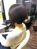 ヴィオレッタ ヘアアンドスペース(VIOLETTA hair&space)ショートカット×白髪染め×ローライト