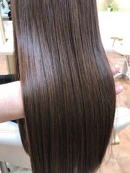 エメ バイ ヘアーポケット(aimer by hair pocket)の写真/あなたのくせを魅力に変える!理想のスタイルを創るためにベストな髪質改善プランをご提案致します☆