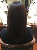 フィン(FiN by allure)【池袋の髪質改善専門店FiN by allure】暗めのパープルアッシュ