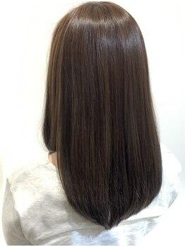 エフェスト 二条店(efesto)の写真/最新の還元トリートメント導入!ふくらむ髪もするんとまとまるストレートヘアに♪驚くほど変わる髪質に感動