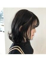 テラスヘア(TERRACE hair)暗髪カラー×外ハネスタイル