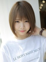 アグ ヘアー ナイン 東三国店(Agu hair nine)軽やか♪小顔ショート