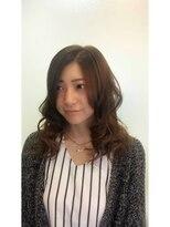 ヘアーアンドメイク ポッシュ 日暮里店(HAIR&MAKE POSH)アッシュグラデーション