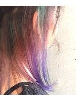 インナーカラー × ブルーバイオレット