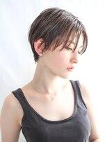【HAVANA 渋谷】大人かわいい☆小顔ハンサムショート×3Dカラー