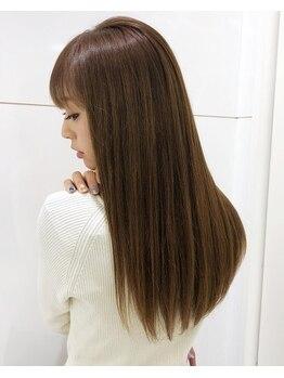 ヘアーズ ラスタ(Hair's RASTA)の写真/言う事をきかない癖がおさまって朝のドライヤーの時間が30%短縮★サラサラの髪がお出かけ気分を誘います♪
