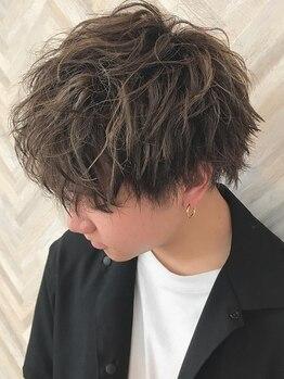 ヘアーシー(HAIR C,)の写真/お洒落は髪型に表れる☆ONもOFFもキマる再現性の高いデザインでステキなメンズに!