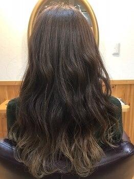 ヘアー ルーム ロル(Hair room LOL)の写真/【話題のイルミナカラー使用♪】ダメージレスで透明感・艶感を実現◎最旬トレンドカラーの表現も自由自在*
