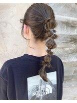 ヘアメイク アプト コンビネーション(HAIR MAKE apt combination)簡単アレンジ