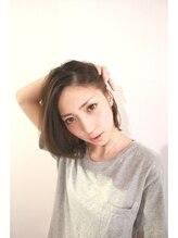 ヘアーデザイン ユーケー(Hair design Yu K)ぼぶストレート