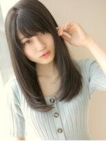 アグ ヘアー リノ 大名店(Agu hair reno)しっとりまとまるサラツヤストレート