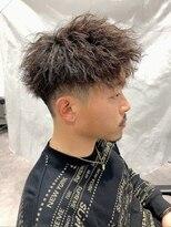 ザ サードヘアー 津田沼(THE 3rd HAIR)横顔ジェットツイストパーマ