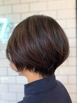 ヘアーシー(HAIR C,)[HAIR C shoichi]襟足キッュと丸みショート