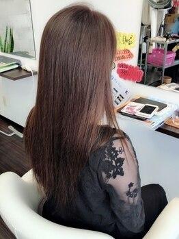 シーヘアー(C hair)の写真/明るい白髪染めを断られた方に朗報!【ファッショングレイカラー】なら、明るいカラーを楽しめる♪♪
