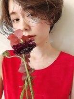 シアアオヤマ 表参道青山(SHEA aoyama)【前坂 美来乃】アッシュブラウンハイライトshort【表参道】