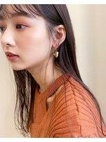 ギフト(GIFT)【GIFT】ナチュラル ストレート ロングヘア 黒田瞳