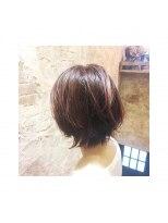 magiy hair[yumoto] マッシュウルフ バレイヤージュ